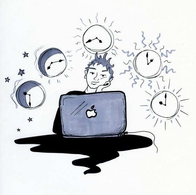 Wo sind die Zeit dahin?