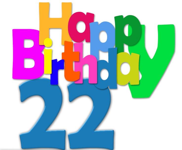 22.-Geburtstag-Happy-Birthday-Geburtstagskarte-mit-bunten-Buchstaben