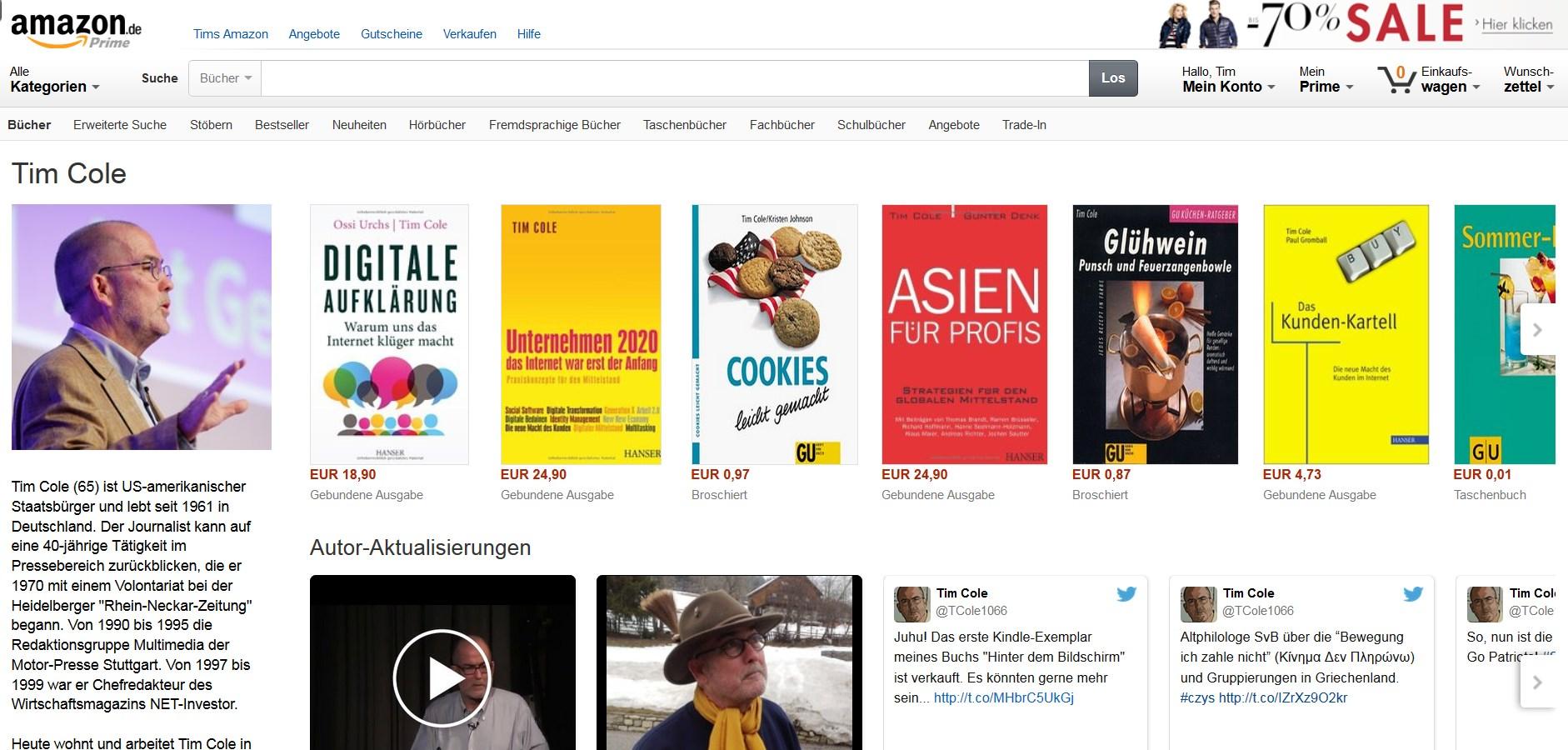 Autorenseite Amazon