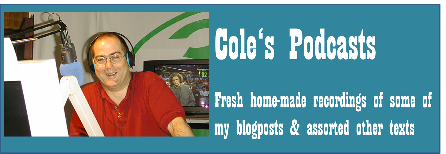 Cole's Podcasts