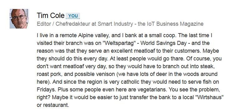Dead Banks comment