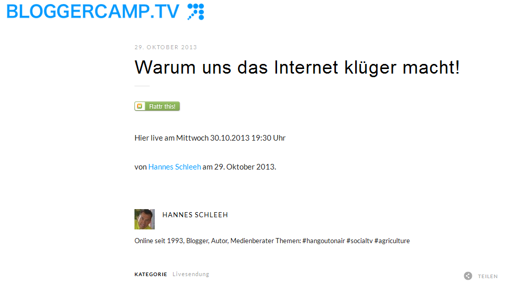 Bloggercamp-TV