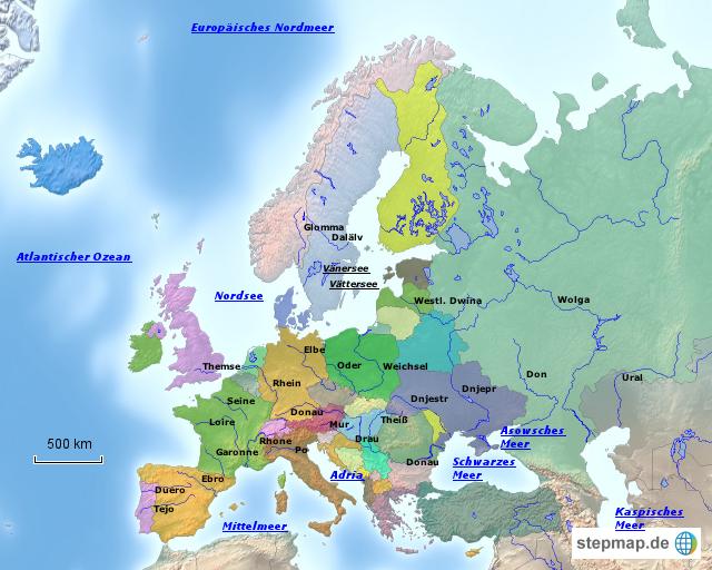 Karte von Europa  TomTom
